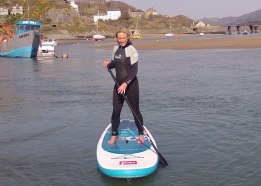Stand up paddle Barmouth